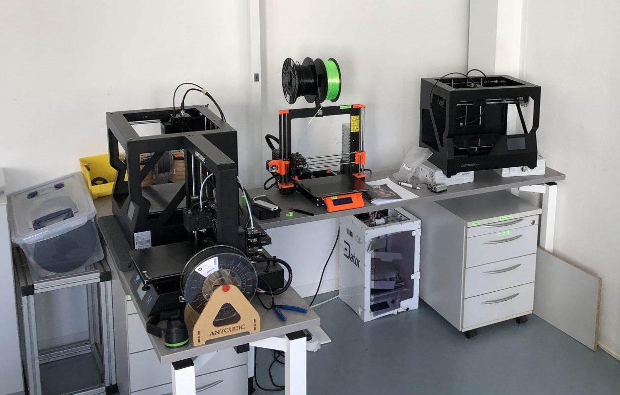 Ein neuer 3D-Drucker in unserem E-Labor!