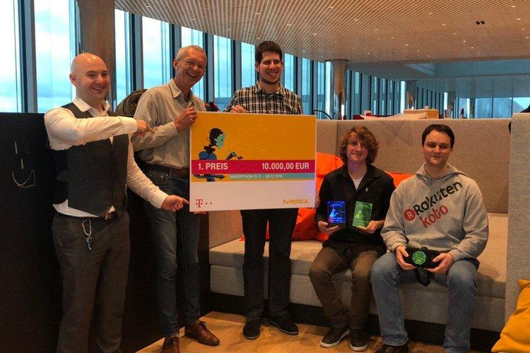 Labspace belegt den ersten Platz beim Makerthon von Merck und Telekom