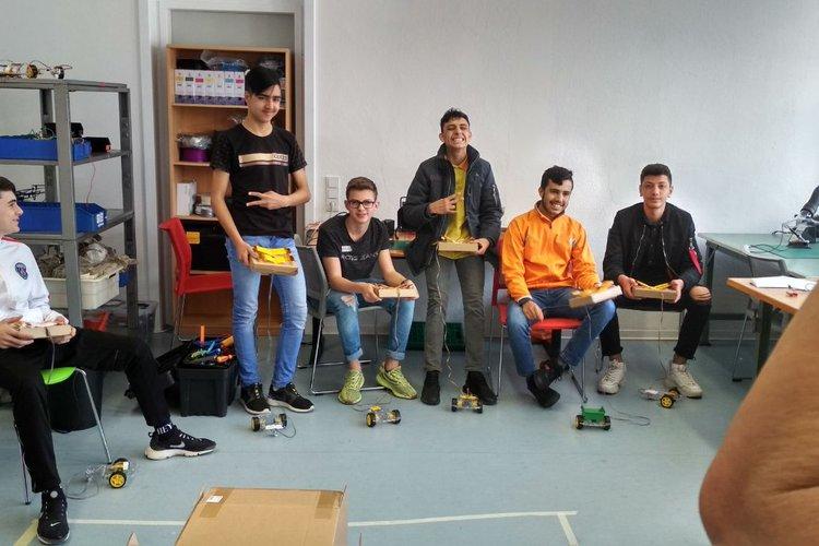 Workshop mit der Clément-Stiftung