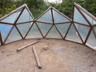 Geodätisches Gewächshaus