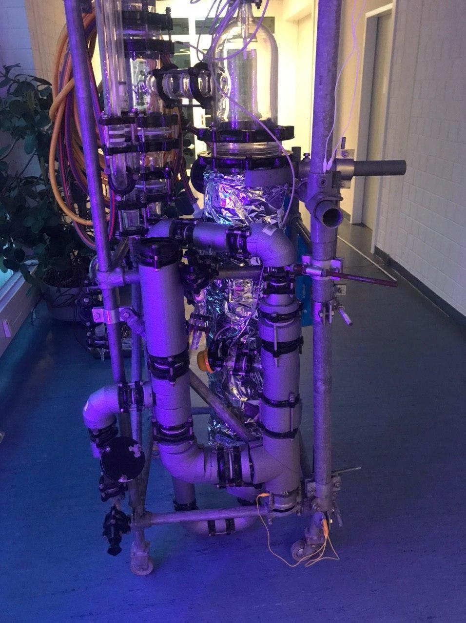 Unser Bioreaktor hat Zuwachs bekommen
